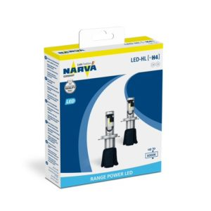 NARVA LED H4 RANGE POWER 6000K
