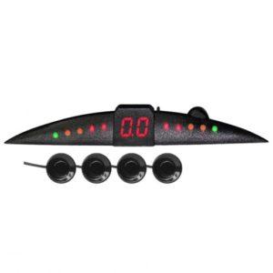 Парктроник PS-144U (4 датчика+коннекторы, цветной светодиодный дисплей с цифровым табло)