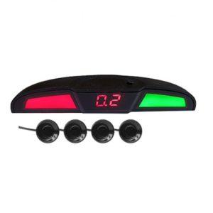 Парктроник PS-444U (4 датчика+коннекторы, голосовое оповещение, цветной светодиодный дисплей