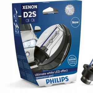 Philips d2s xenon whitevision gen2 5000k