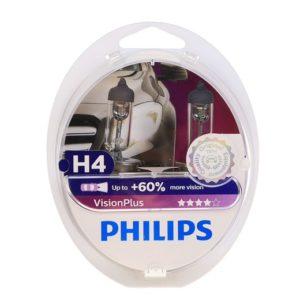 Philips h4 vision plus +60