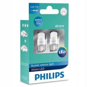 Philips led w5w 4000k
